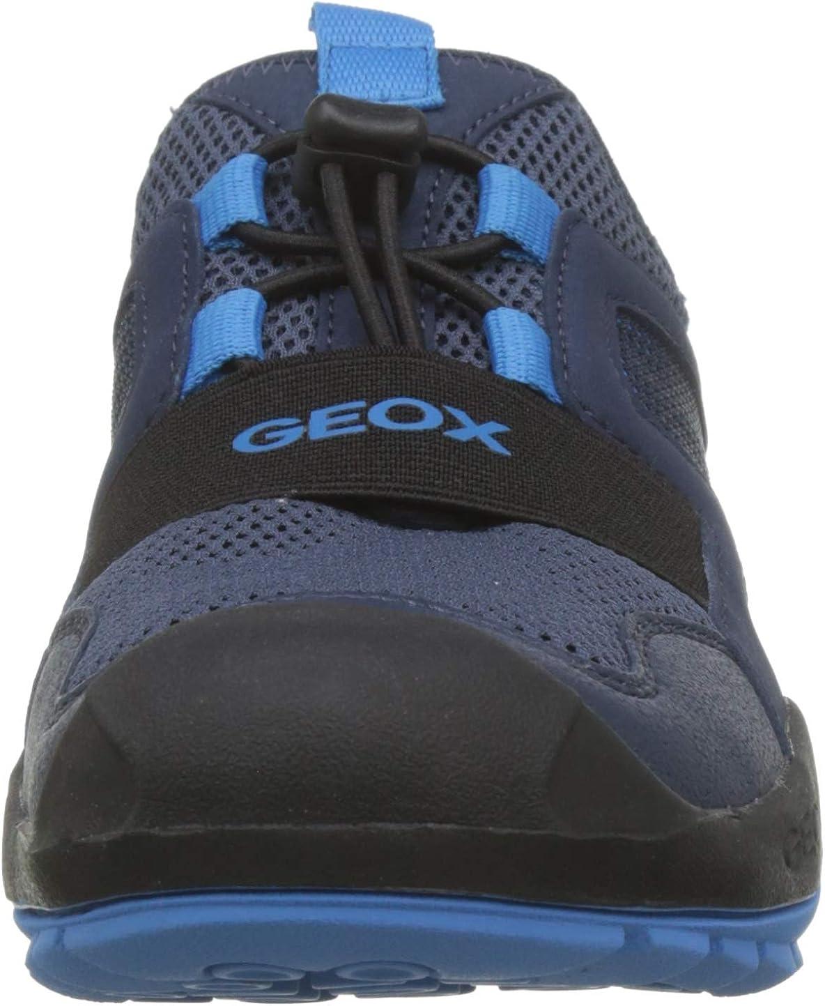 Geox Kids New Savage Boy 12 Play Slip on Closed Toe Sandal Sneaker