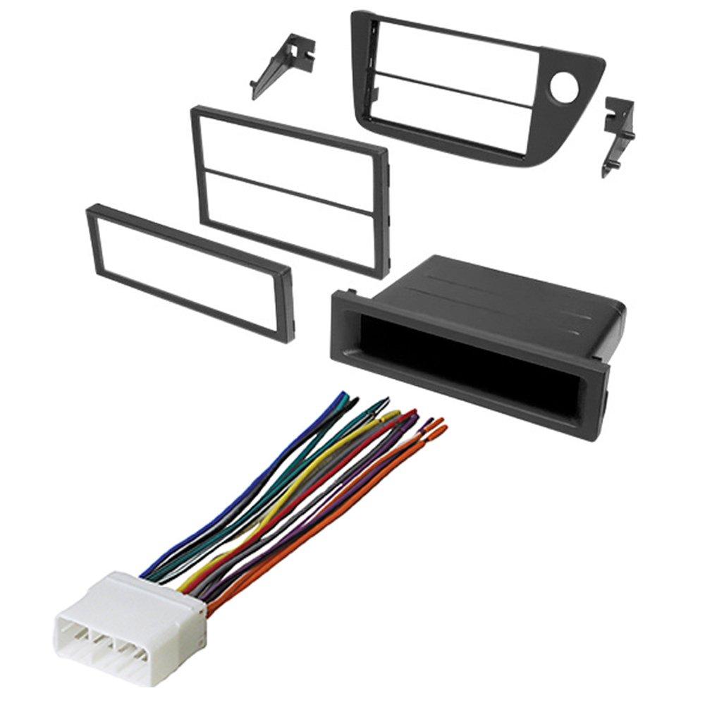 Amazon.com: 2002-2006 Acura RSX CAR Stereo Radio Dash Installation MOUNTING  KIT W/Wiring Harness: Car Electronics