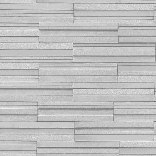 BHF FD40127 Ceramica Slate Tile Kitchen And Bathroom Wallpaper   Grey
