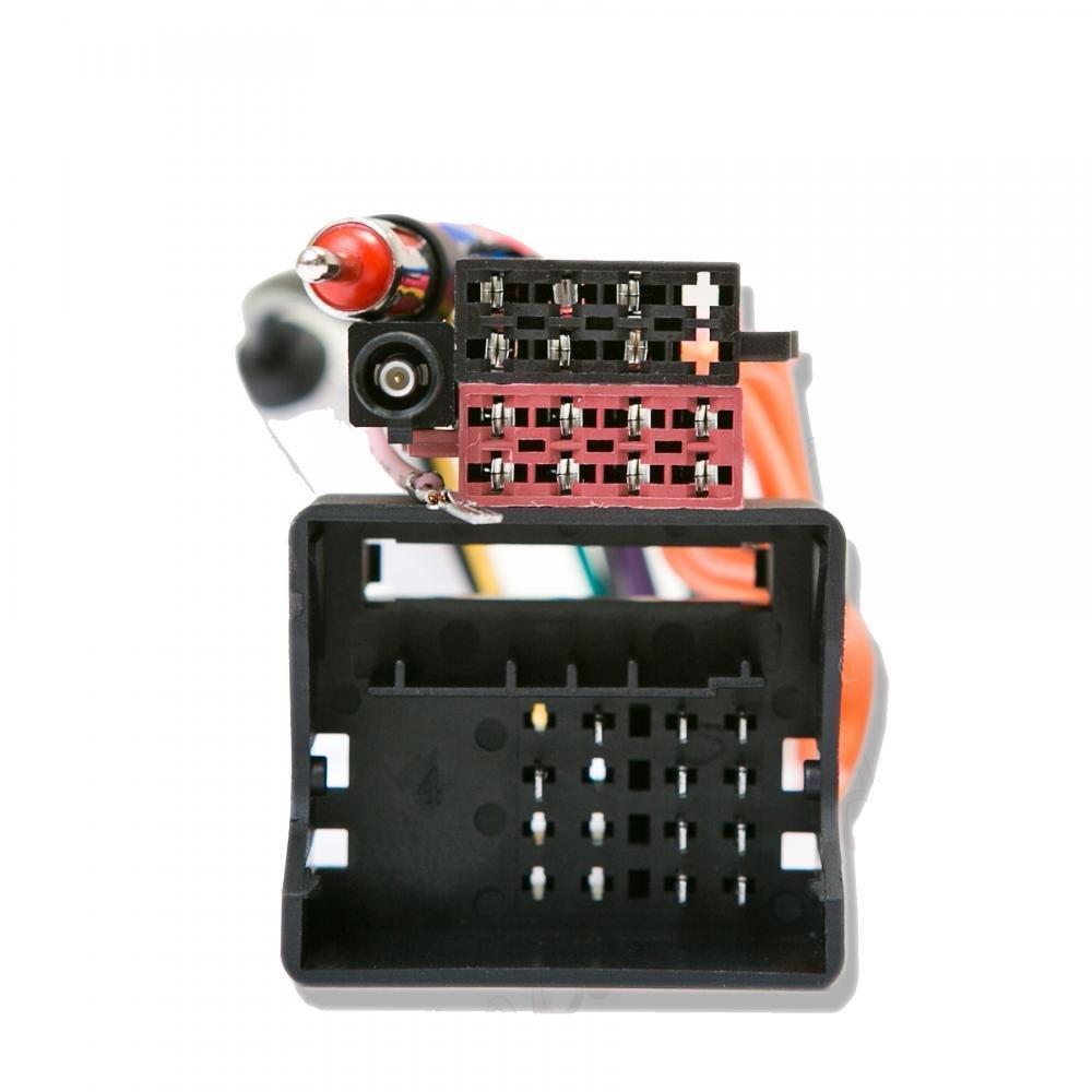 Inex Vauxhall Zafira 05 Quadlock ISO Radio Harness with Fakra to DIN Antenna