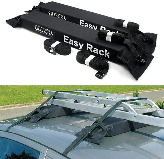 voiture de galerie de toit Universelles barres de toit coffre de toit de voiture barres porte-bagages de toit Pliable /Étag/ère galerie de toit de voiture thule pour Le Kayak et tous les bagages lourds