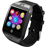Aipker Smartwatch Android Phone Watch Curved Touch Screen Smart Watch for Android Phones