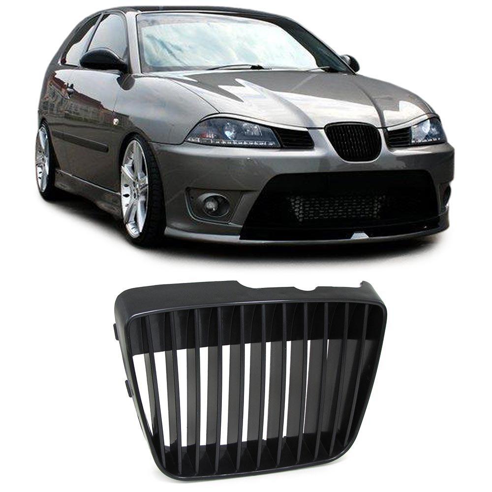 Carparts-Online 27562 K/ühlergrill Grill ohne Emblem schwarz
