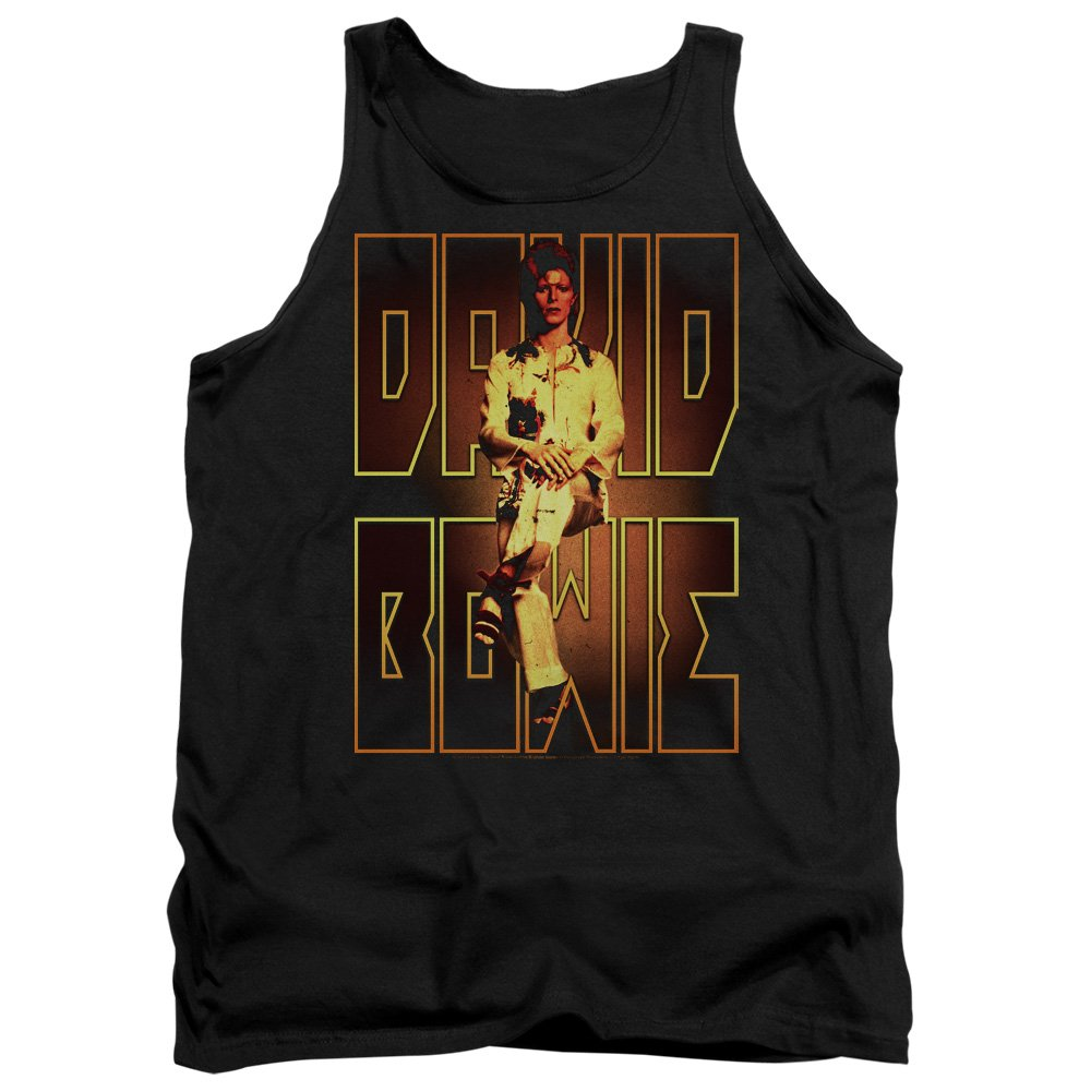 Perched Tank Top TeeShirtPalace David Bowie