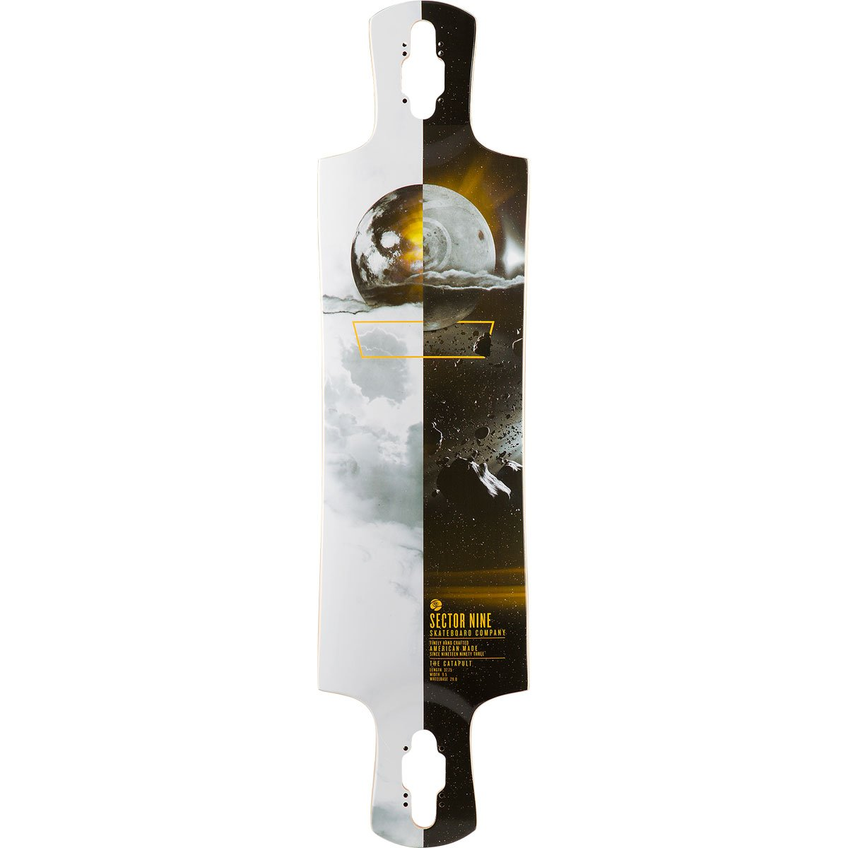 Sector 9 Catapult Skateboard Deck, Assorted, 37.75'' x 9.5'' WB - 29.0''