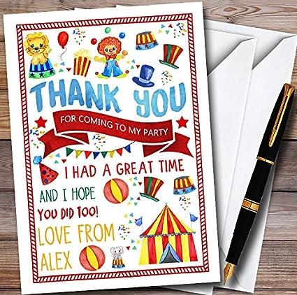 Amazon Com Kids Circus Carnival Clown Personalized Childrens