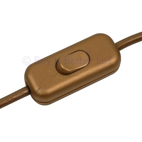 Interruptor de cable de ElekTek, diseño de bajo perfil, 2 o 3 ...