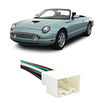 amazon com ford thunderbird 2002 2003 factory stereo to aftermarket rh amazon com Ford Wiring Harness Kits Truck Wiring Harness