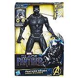 Marvel Figura Black Panther Garras de Combate, 12 Pulgadas