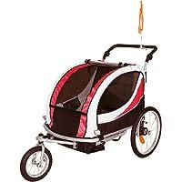 Tiggo Remolque de Bici para Niños Remolque de Bici Remolque de bicileta 802-D01 JBT03N Rojo