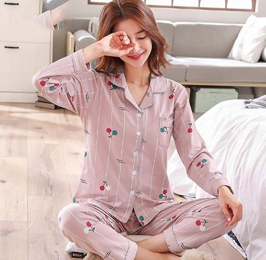 lxylllzs Vario Estilos Pijamas Mujer,Pijama Fino de Verano para ...