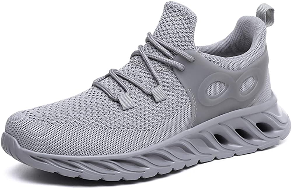 Davnae Mens Shoes Non Slip Lightweight Breathable Gym Running Shoes