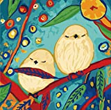 Karribi Paint by Numbers Kit for Adults and Children - Spring Birds Series (Bird XII)