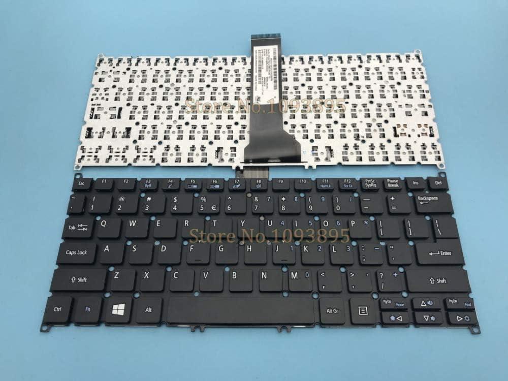 Lysee Replacement Keyboards - English keyboard for Acer Aspire E3 111 C5SW V5-122 122P V5-132 132P V13 V3-371 E11 E3-112 E3-111 Laptop English Keyboard