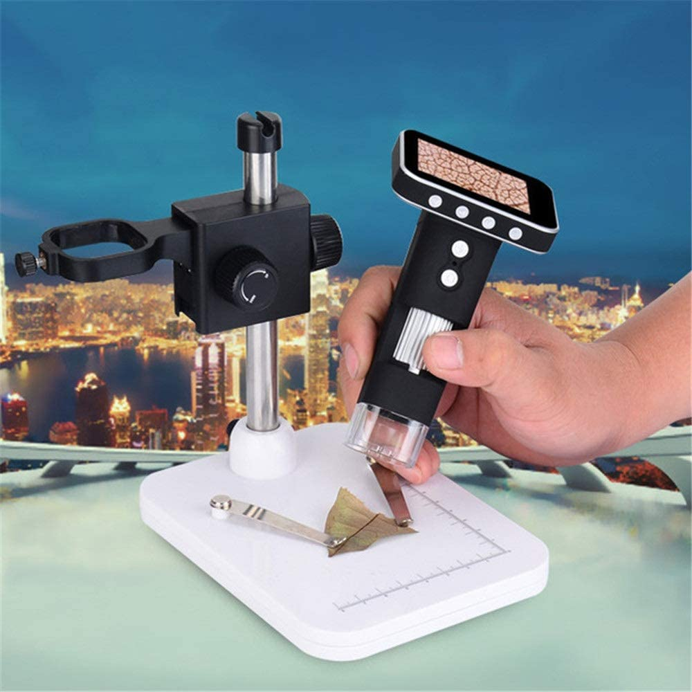 Handheld Microscope Digital USB Microscope Magnification Digital Microscope for Phone Repair Soldering Tool Jewelry Appraisal Biologic Use USB Microscope Magnifier with Adjustable Stand