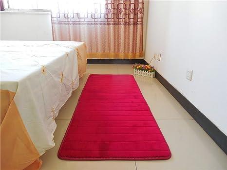 Eovsea memory foam antiscivolo tappetini da bagno doccia tappeto