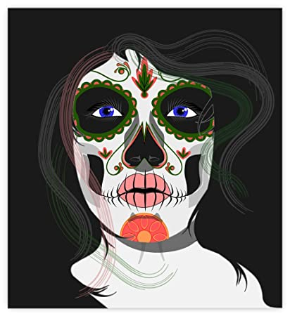 Amazoncom Santa Muerte Sticker Decal 4 X 4 Everything Else