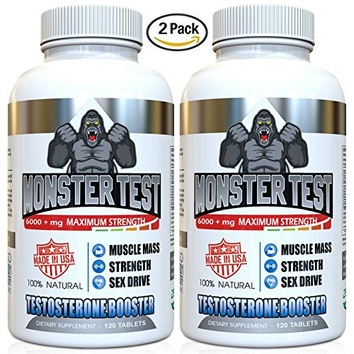 Testosterone Booster 5452 Naturally Capsules 2 Formulated