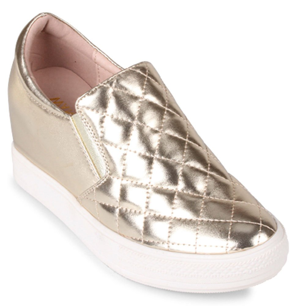 Wanted 6 Womens Bushkill Wedge B019GS6TDS 6 Wanted B(M) US|Gold 7c433b