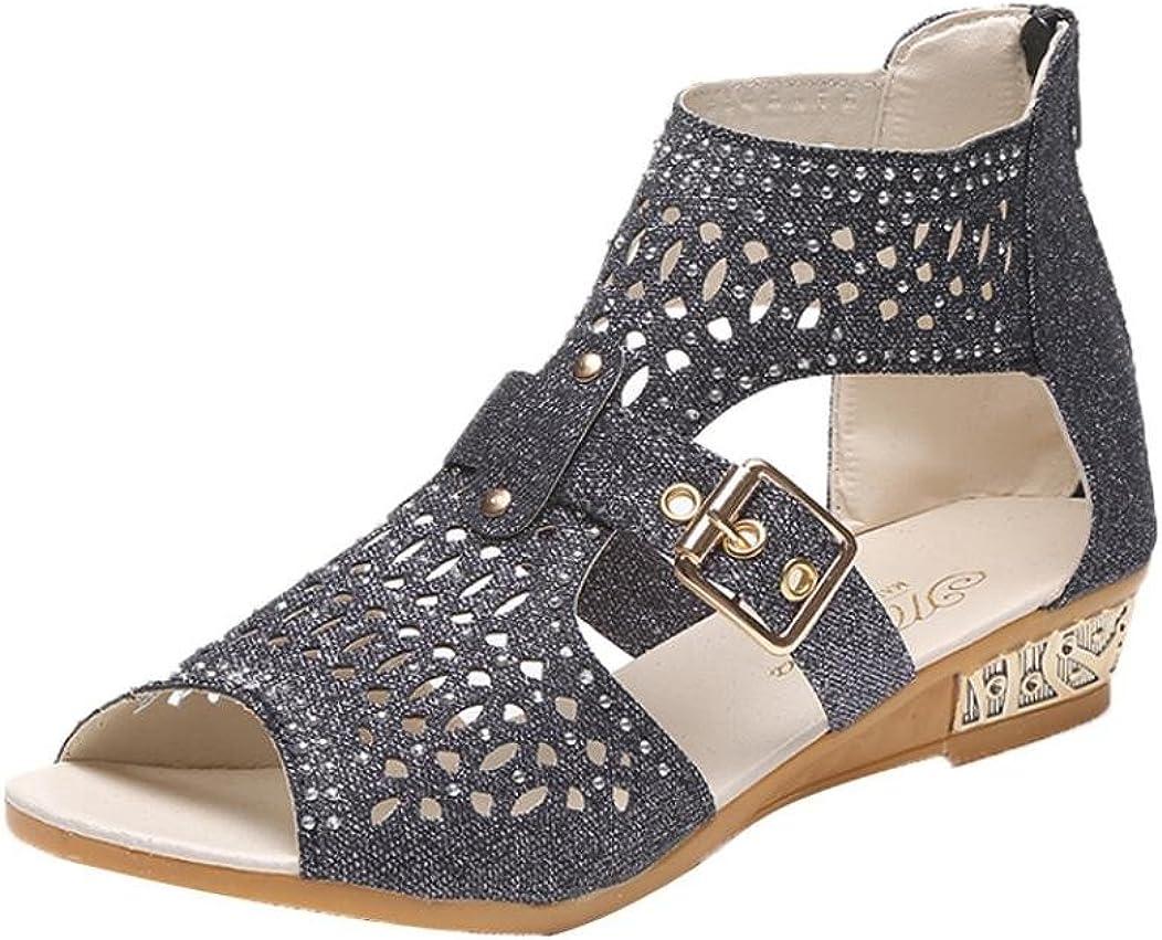 Bohemia Shoes Beaded Sandals Clip Toe