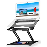 $23 » Urmust Laptop Notebook Stand Holder, Ergonomic Adjustable Laptop Stand Portable Laptop Riser…