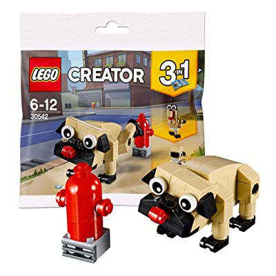 LEGO Creator 3 in 1 Pug, Turkey, and Koala Bear (30542) Bagged: Toys & Games