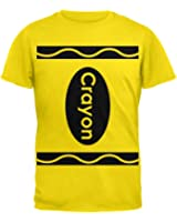 Crayon Costume Yellow T-Shirt