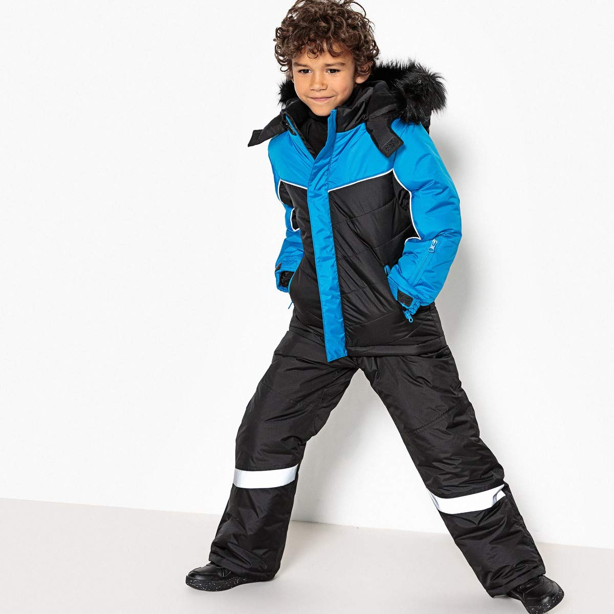 La Redoute Collections Big Boys Ski Jacket, 3-16 Years Blue Size 3 Years by La Redoute (Image #2)