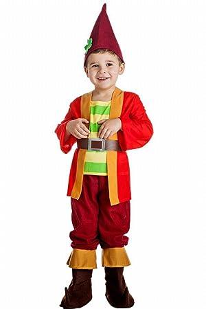 DISFRAZ GNOMO TALLA 10-12 AÑOS: Amazon.es: Juguetes y juegos