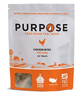 Purpose Chicken & Chicken Liver Freeze Dried Cat Treats