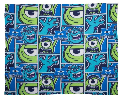 (Monsters Inc 'University' Fleece Disney Rotary)