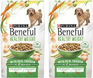 Purina Beneful Healthy Weight Dog Food 3.5 lbs (Pack of 2)