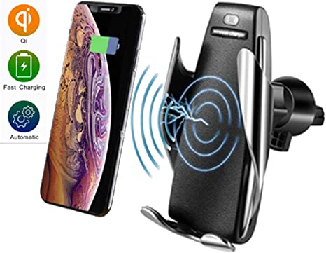 Cargador de Coche inalámbrico automático para teléfono móvil con ...