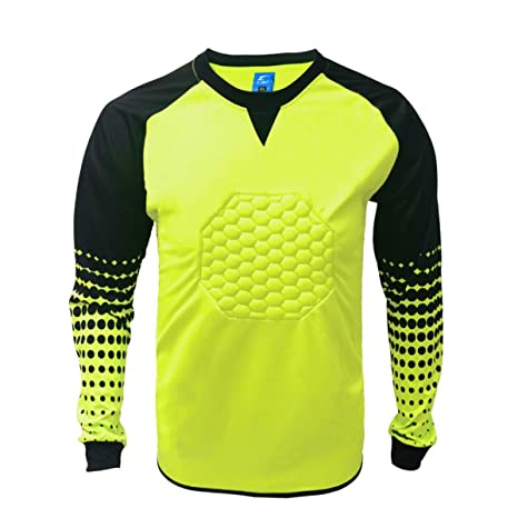 5249a218b8e Amazon.com: 1 Stop Soccer Soccer Goalkeeper Goalie Shirt Youth: Toys & Games