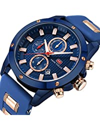 Men Business Watches Chronograph, Mini Focus Fashion...