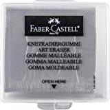 Faber-Castell Kneaded Eraser with Case, Grey