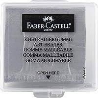 Faber-Castell Öğrenci Silgisi Hamur Plastik Kutulu Gri Adel 127220
