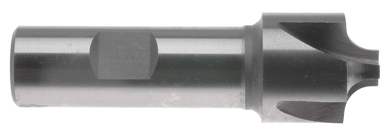 High Speed Steel 3//8 Shank EM-RC1 1//32 radius Corner Rounding End Mill