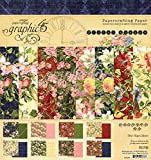Graphic 45 Floral Shoppe 8x8 Pad (4501697)