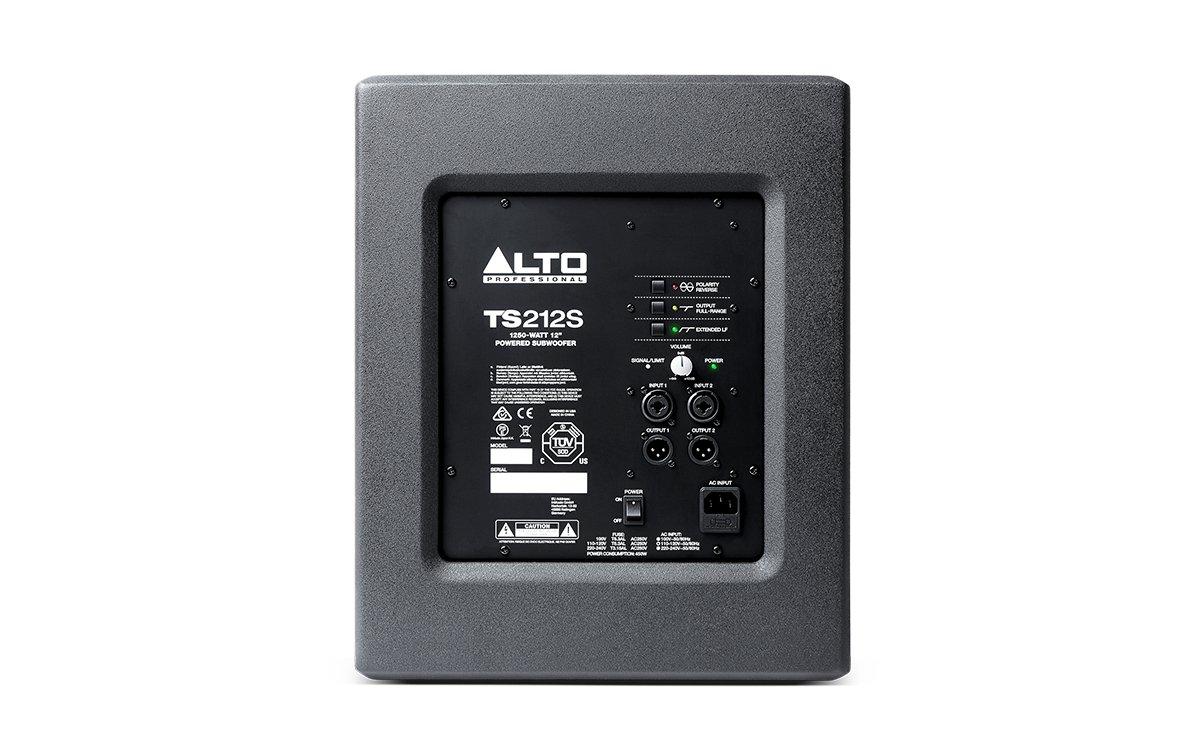 Back facing alto professional TS212S