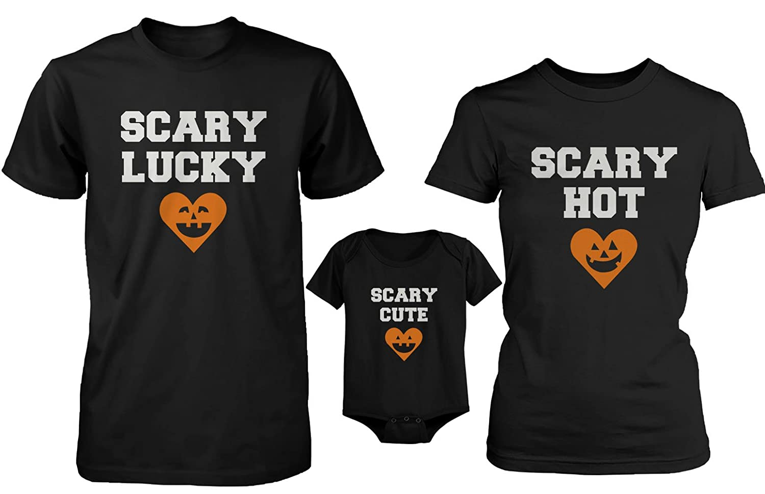 Black t shirt for babies - Amazon Com Daddy Or Mommy Or Baby Family Matching T Shirt And Onesie Heart Pumpkin Family Clothing