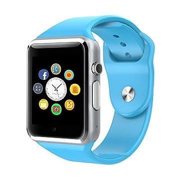 Reloj Inteligente, CulturesIn Pulsera con Pantalla Táctil Bluetooth con Cámara/Ranura para Tarjeta SIM