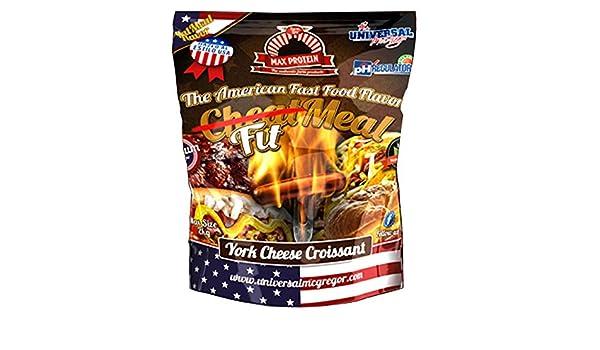 Max Protein FitMeal sabor York Cheese Croissant - 2 kg: Amazon.es: Alimentación y bebidas