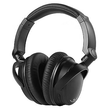 sbode sobre oreja Auriculares Bluetooth inalámbrico HIFI estéreo ajustable auriculares cancelación de ruido con micrófono y Control de volumen para deportes ...