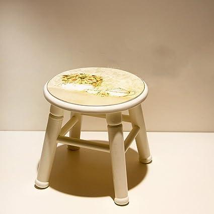 AIDELAI Bar Stool Chair  Solid Wood Stool Fashion Creative Sofa Stool Solid  Wood Stool Home