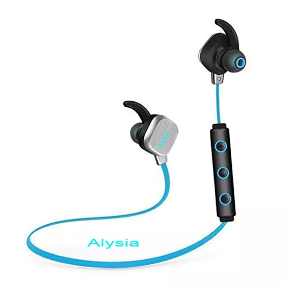 Bluetooth Headsets - Alysia Earphones V4.1 Bass Wireless Earbuds Lightweight Noise Cancelling Headphones Mini