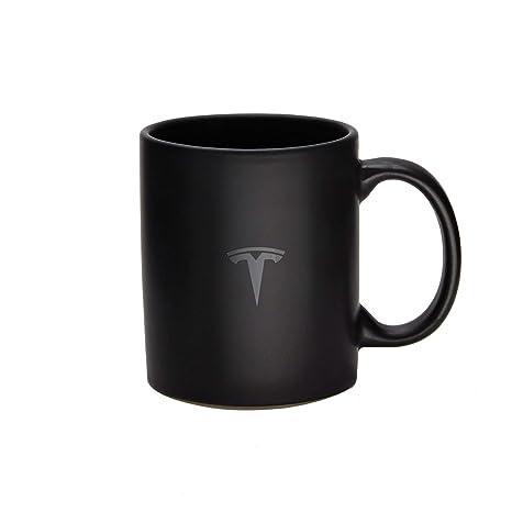 98c16437c707 Amazon.com  Tesla Matte Black Mug  Kitchen   Dining