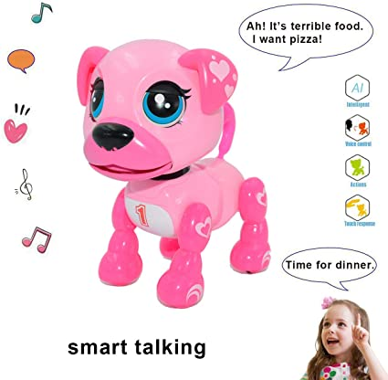 Toys for Girls 3 4 5 6 7 8 9 Year Old Kids Interactive Dog Birthday Gift