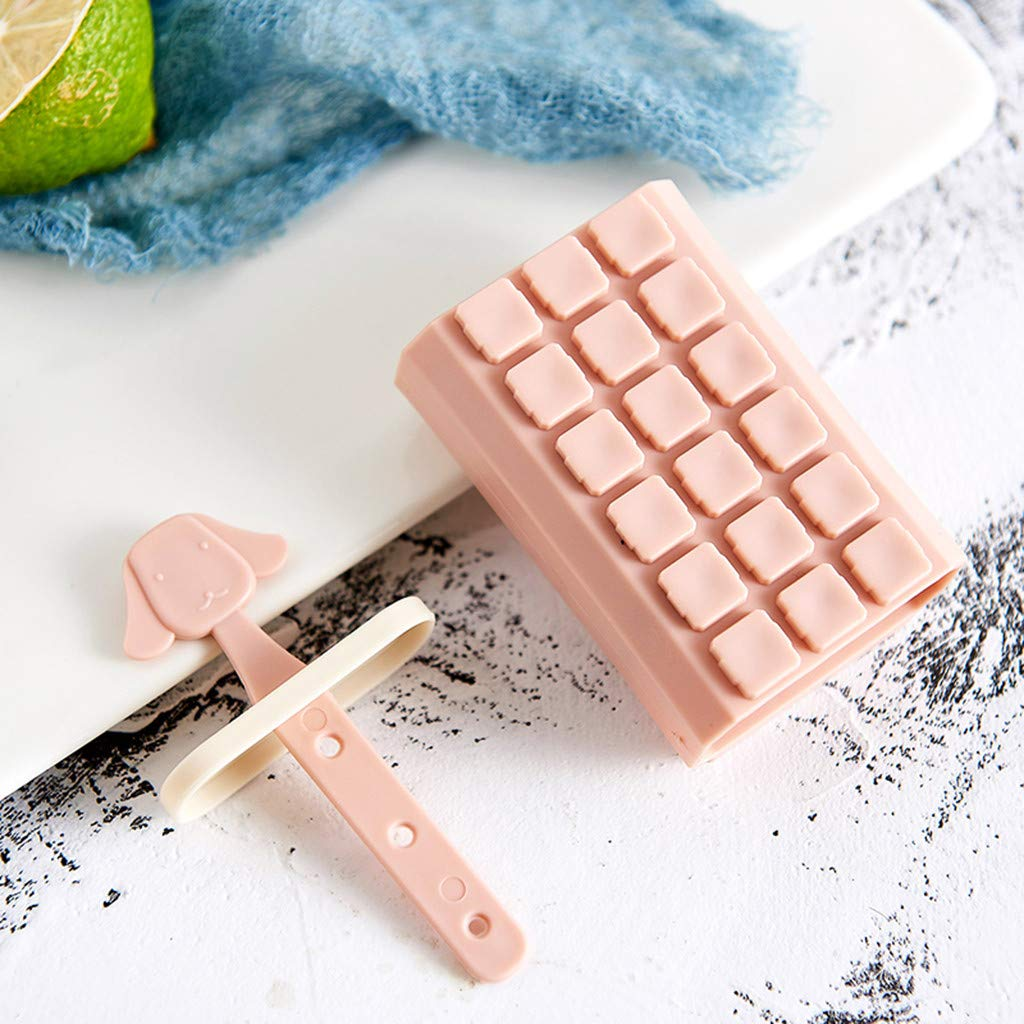 Amazon.com: DDLmax Popsicle Molds Maker, Reusable Ice Pop Molds Trays for Homemade Popsicles - Set of 6: Kitchen & Dining