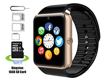 Smart Watch, Reloj Inteligente, Android Smartwatch, iPhone inteligente reloj, Pushman 1,